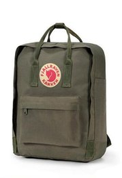 anti dust computer NZ - High Quality Fjallraven New Original Canvas Bags Mom Bags Fjallraven Outdoor Travel Computer Bags Riding Backpacks Outlet
