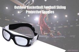 ab0a12482 Gafas de baloncesto Deportes Fútbol Gafas protectoras Esquí de fútbol Gafas  Gafas de seguridad para adultos Gafas de ciclismo 2018 Nuevo