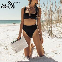 $enCountryForm.capitalKeyWord Australia - In-x Sexy High Waist Bikini 2019 Push Up Swimwear Women Bathing Suit Black White Swimsuit Female Brazilian Two-piece Suit Bather Y19072601