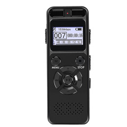Wholesale Secret Digital Audio Voice Recorder 8GB 16GB Professional Portable Recorder MP3 For Business Support Up to 64G TF Card V32