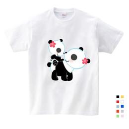 $enCountryForm.capitalKeyWord Australia - Children's Summer Animation Festival Panda Giant Funny T-shirt Summer Gifts for Children's Birthday Girls Baby Suit