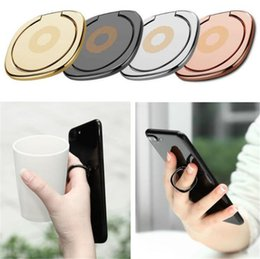 Rotating Tablet Stand Australia - Metal Finger Ring phone holder phone ring holder stand 360 Degree rotating for all cell phone Tablet bracket with retail bag
