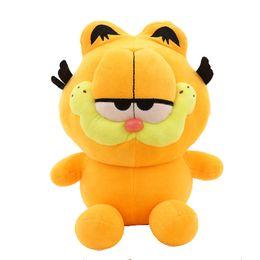 $enCountryForm.capitalKeyWord UK - Best selling 25cm New baby plush toy birthday gift cartoon Garfield doll cartoon Stuffed animals toys soft best Gifts