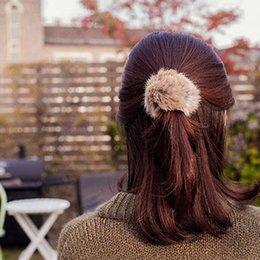 Hairy Hair online shopping - Fashion Trendy Elastic Cute Hair Bands Rope Faux Fur Soft Headwear Hairy Hair Accessories Gift For Women Girls Children