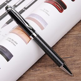 writing pens for sale Australia - Hot Sale Full Carbon Fiber Ballpoint Pen for Father's Day Gifts Metal Heavy Pen Office Writing 6841