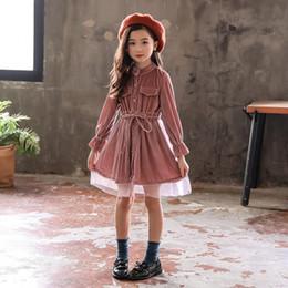 c15fec28d612 Lady Summer Christmas Clothes Australia - Girls Children s Clothing  Princess Lady Patchwork Party Cinderella Cotton Dress
