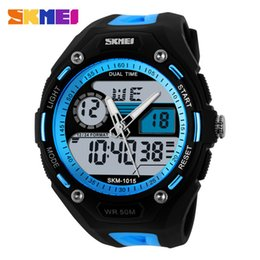 Wholesale Beautiful Double Display High Archives Man Outdoor Sport Wrist Watch Mountaineering Waterproof Watch Student More Function Wrist watches