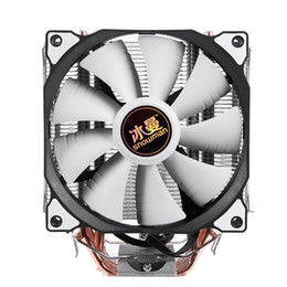 Intel Cpu Fans Australia - SNOWMAN 4PIN CPU cooler 6 heatpipe Single fan cooling 12cm fan LGA775 1151 115x 1366 support Intel AMD