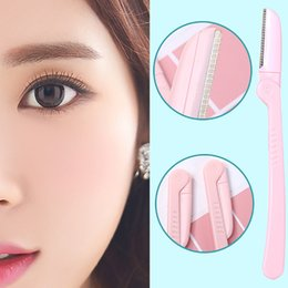 Trim Eyebrow Hair Australia - HAICAR Stacked Eyebrow Repairer Face Eyebrow Hair Removal Razors Trimmer Shaper Shaver Makeup Tool Grooming Tools