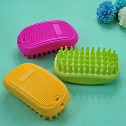 pet hair removal products Canada - Professional Pet Hair Removal Brush Puppy Cat Dog Pet Comb Cleaning Massage Combs Grooming Dog Accessories Pet Supplies Product