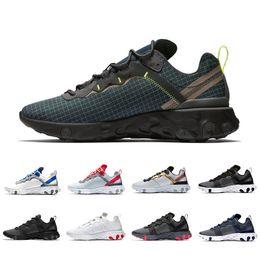 $enCountryForm.capitalKeyWord Australia - Grid 2019 Pack Solar React Element 55 Black Jade Total Orange Running Shoes For Women Designer Sports Mens Designer Trainer 55s Sneakers