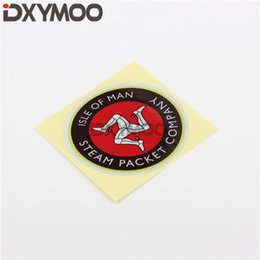 Company Cars Australia - Moto GP World Racing Map Car Stickers Reflective for Isle of Man Steam Packet Company Drop Shipping