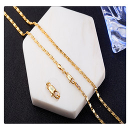 $enCountryForm.capitalKeyWord Australia - Fashion Jewelry Chain Necklace For Women Men Jewelry Necklaces Pendants Charms Jewellery Chains Necklaces Women Chains Jewelry