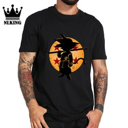 t shirts hand painting Australia - baby Son t-shirts male Japanese Anime style Hand painted 100% cotton short T-Shirt funny Qigong wave tops tees