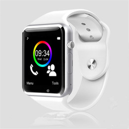 Bluetooth Smart Watch Sim Australia - A1 WristWatch Bluetooth Smart Watch Sport Pedometer With SIM Camera Smartwatch For Android Smartphone Russia T15 good than DZ09