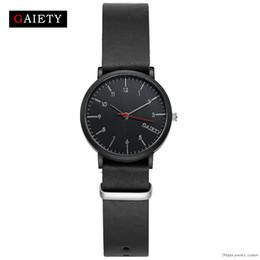 $enCountryForm.capitalKeyWord Australia - Gaiety Top Brand Leather Strap Man Sports Luxury Black Watch For Men Watchs Fashion Watchs Sports Rules Watchs Favorable G155