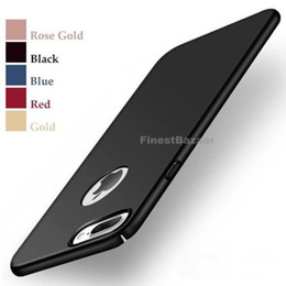 $enCountryForm.capitalKeyWord Australia - Hot Luxury Ultra-Thin Slim Shockproof Corners Acrylic PC Hard Matte Back Phone Case Cover For Apple iPhone 10 X 8 Plus 7 Plus 6S Plus 5S