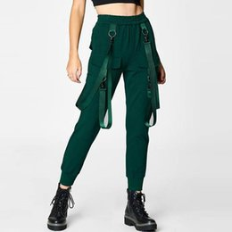 Wholesale Womens Pants Spring and Autumn New Fashion Overalls Casual Street Style Harem Pant Colors S L