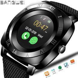 $enCountryForm.capitalKeyWord NZ - 2018 NEW BNAGWEI Smart Watch Pedometer Fitness Clock Camera SIM Card Smartwatch phone Mp3 Player man for IOS Android Watchphone