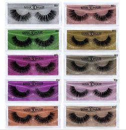c89d44580c8 Human Hair lasHes online shopping - 10 Styles d Mink Eyelashes Natural Long  Thick False Eye