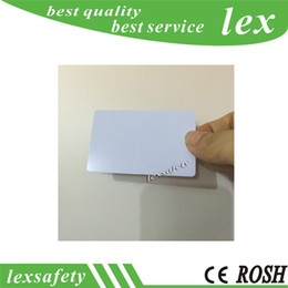 Wholesale 500pcs RFID MI FARE Classic Blank EV1 k card thin pvc cards MHz ISO14443A smart IC cards