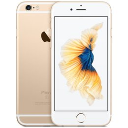 camera 12mp Australia - Refurbished Original Unlocked Iphone 6s Mobile phone 4G LTE 4.7 inches IOS 2GB RAM 16GB 64GB 128GB ROM 12MP 2160p 1715mAh cellphone