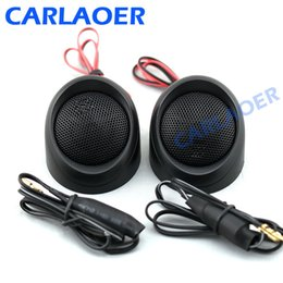 TweeTers for cars online shopping - Car Tweeter Speaker quot W mm Micro Dome neodymium Car Audio Tweeters Speakers Power Loud Dome Horn Loudspeaker For Motocycle