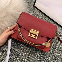 marca genuine leather NZ - Women Shoulder Bag bolso de mujer de la marca de lujo Fashion Women genuine leather Handbags high quality Chain Messenger bags designer