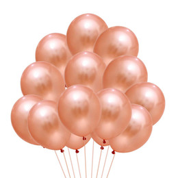 shower toys Canada - 15pcs Rose Gold Balloon Birthday Wedding Baloon Confetti Party Decoration Adult Latex Ballon Baby Shower kid toys