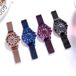 sound glasses Canada - POPLOV is selling hot when it comes to rotating net red shaking sound with the same ladies watch magnet student quartz watch PL-321