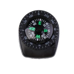 $enCountryForm.capitalKeyWord Australia - Protable Mini Precision Watch Band Clip-on Navigation Wrist Compass for Survival Camping Hiking