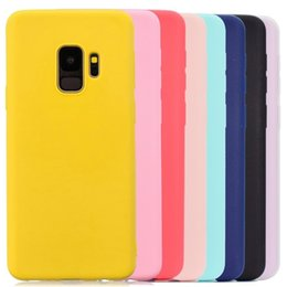 silicone case for samsung galaxy j7 UK - Multicolor Silicone Phone Case Cover For Samsung Galaxy S6 S7 S8 S9 Edge J3 J5 J7 J4 J6 A3 A5 A7 A6 A8 Plus 2016 2017 2018 Case