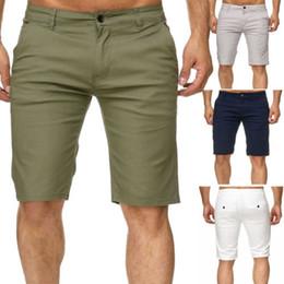 Venta al por mayor de Verano Nuevo Mens Cargo Shorts Stallion Chino Casual Combate Casual Shorts Algodón New Work Half Pants Streetwear