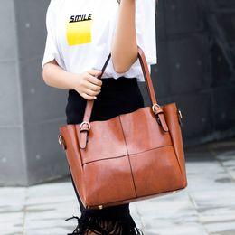 $enCountryForm.capitalKeyWord Canada - W&M Fashion lady's OL PU leather Handbag shoulder bag Socialite soft Tassel Versatile bag 5 colors Business Totes