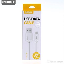 lightning cable retail 2019 - 2018 Original Remax Fast speed Charging data Cable Micro USB Cable for 6s Samsung Sony HTC Huawei Nokia Nubia USB Cable
