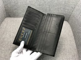 id card pockets Canada - Male Genuine Leather Credit Card Holder Designer Wallet Classic Black Men Slim Fashion ID Card Case Luxury Pocket Bag