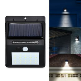 $enCountryForm.capitalKeyWord Australia - LED Solar Power PIR Motion Sensor Wall Light 30 LED Outdoor Waterproof Energy Saving Street Yard Path Home Garden Security Lamp