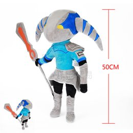 dota figures NZ - DOTA 2 action Figure Sven 50cm plush toys Collection dota 2 figure Toys