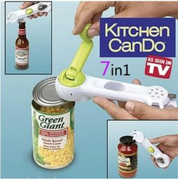 $enCountryForm.capitalKeyWord Australia - Hot kitchen gadgets Seven-in-one bottle opener creative bottle opener Multi-function can opener 6-in-1 direct sales