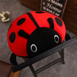 $enCountryForm.capitalKeyWord Australia - 20170619 Hot Sale 40cm Cute Lady Beetle Colorful Plush toy Beautiful Doll Stuffed Animal Children Brithday Gift