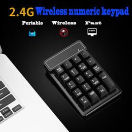 $enCountryForm.capitalKeyWord Australia - 2.4G Wireless Mini Numeric Keypad USB Digital Mechanical Keyboard 19 Keys Ultra Slim Pad Number for Financial MAC Calculating Laptop PC