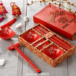 $enCountryForm.capitalKeyWord Australia - Chinese Style Creative Ceramic Tableware Gifts Japan And South Korea Dishes Kitchen Supplies Sushi Set J190712