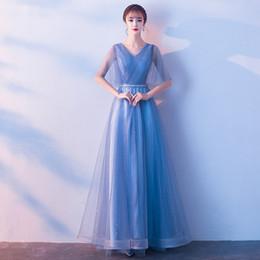 $enCountryForm.capitalKeyWord Australia - Chorus performance costume 2019 new Sequins Chinese style slim long choral evening dress Improved Cheongsam Plus Size S-3XL