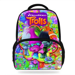 $enCountryForm.capitalKeyWord Australia - 14inch New Style Anime Backpacks Trolls Schoolbags Cartoon For Children Travelbag For Girls&Boy Leisure bags