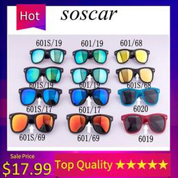 Yellow beach glasses online shopping - 4105 Folding Sunglasses Brand Designer Sunglasses for Man Woman UV400 Protection Metal Hinge Flash Mirror Lenses mm mm with Folding Box