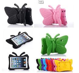 $enCountryForm.capitalKeyWord Australia - Butterfly EVA Foam Shockproof washable Case For iPad 9.7 2017 Cover for Children Kids Tablets protective skin+pen