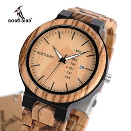 $enCountryForm.capitalKeyWord Australia - Bobo Bird Men Watch Wooden Business Auto Date Week Display Timepiece Relogio Customize Logo U-o26 Y19052103