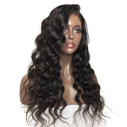 long african hair Australia - Trending Style For African Americans Loose Wave Virgin Indian Human Hair Lace Front Wigs Silk Top Full Lace Wigs For Black Women