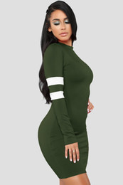 $enCountryForm.capitalKeyWord UK - Womens Dress Nice New Long-sleeved Stitching Dresses Nightclub Style Casual Skirt Multi-color Optional