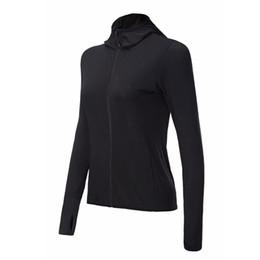 Ladies Jackets Sweaters Australia - Running Jacket for Women Yoga Zipper Long Sleeve Women Sport Jacket Fitness Ladies Hoodies Sports Women's Gym Clothing Sweaters
